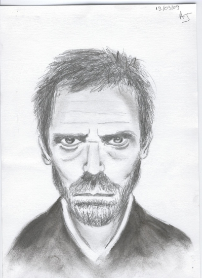 Hugh Laurie by LiiSs